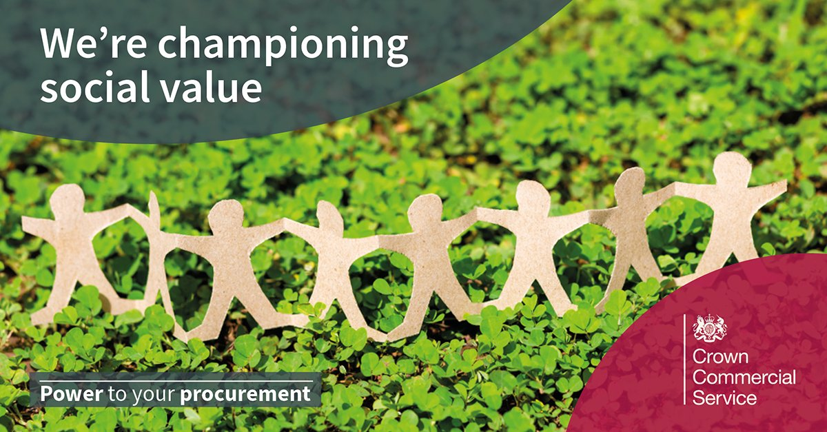 Our #SocialValue champions are passionate about helping customers achieve meaningful social, economic and environmental benefits through our commercial agreements. They peer review every new agreement before it goes to tender. crowncommercial.gov.uk/buy-and-supply… #PowerToYourProcurement