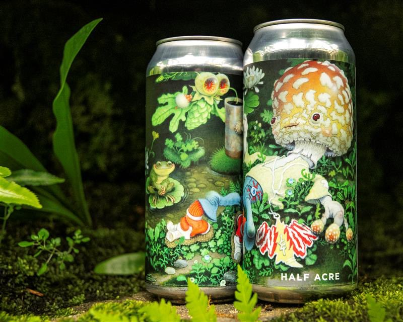 Available NOW at the Balmoral Beer Garden & Take Away Cafe. In-person or order online for pick-up. Online orders can be held for up to 2 weeks. If person picking up does not match name on order, email orders@halfacrebeer.com. Link in bio.