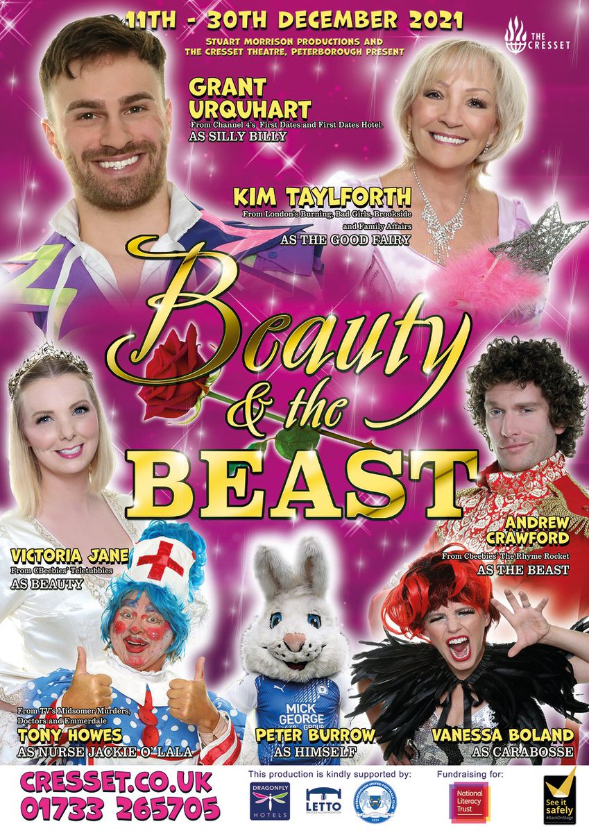 """The Cresset on Twitter: """"🎅🎄 100 DAYS 'TIL XMAS! ✨🤯 What better time is  there for us to reveal our amazing new panto artwork? 😍🤩 GET YOUR PANTO  TICKETS HERE ➡️ https://t.co/DH3ptxCKEq"""