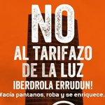 Image for the Tweet beginning: Argindarraren prezioak salatzeko protesta deitu