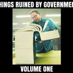 Image for the Tweet beginning: Because most of what government