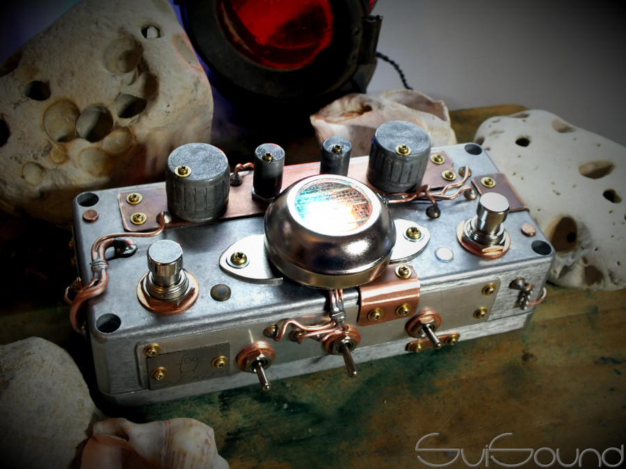 #overdrive + #booster #CopperSubmarine #steampunk #industrial style