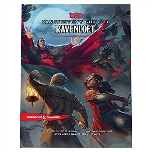 Van Richten's Guide to Ravenloft (Dungeons & Dragons)   Now 48% off