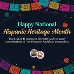 Image for the Tweet beginning: CELEBRATING NATIONAL HISPANIC HERITAGE MONTH  It's