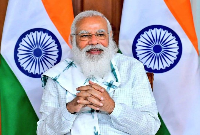 Happy birthday to our honorable prime minister narendra modi ji .