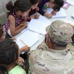 Image for the Tweet beginning: Afghan refugees, safe in the