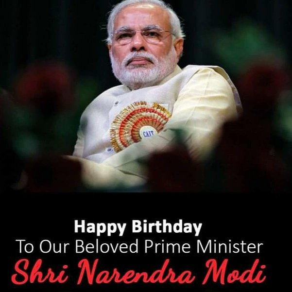 17th September  Happy Birthday to you... Narendra Modi Ji.... Prime Minister of India...