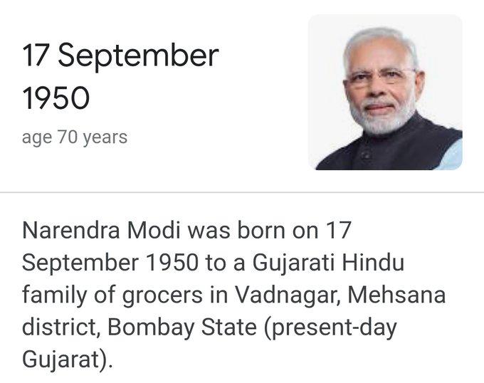 Happy birthday to you sir My dear Prime minister Sri Narendra Modi.