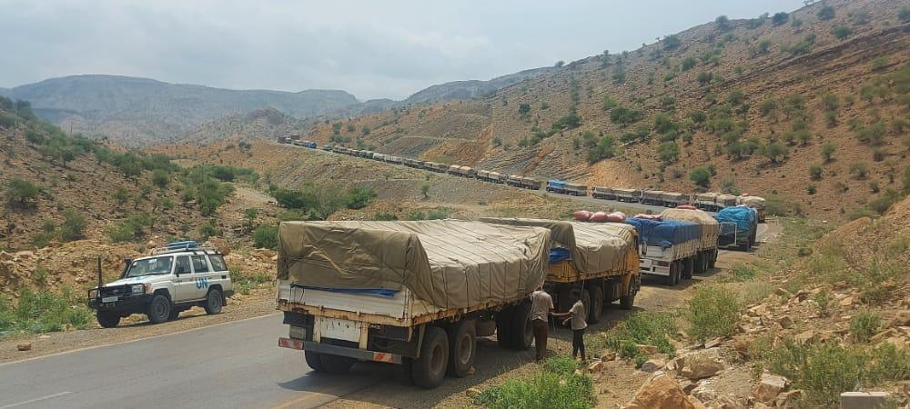 """TPLF appears to have requisitioned UN relief trucks for two months. Impunity is astounding! No outrage from its Enablers. The facts were not even divulged until now. Overriding objective is to rehabilitate TPLF & its high criminality must be tolerated! """""""""""