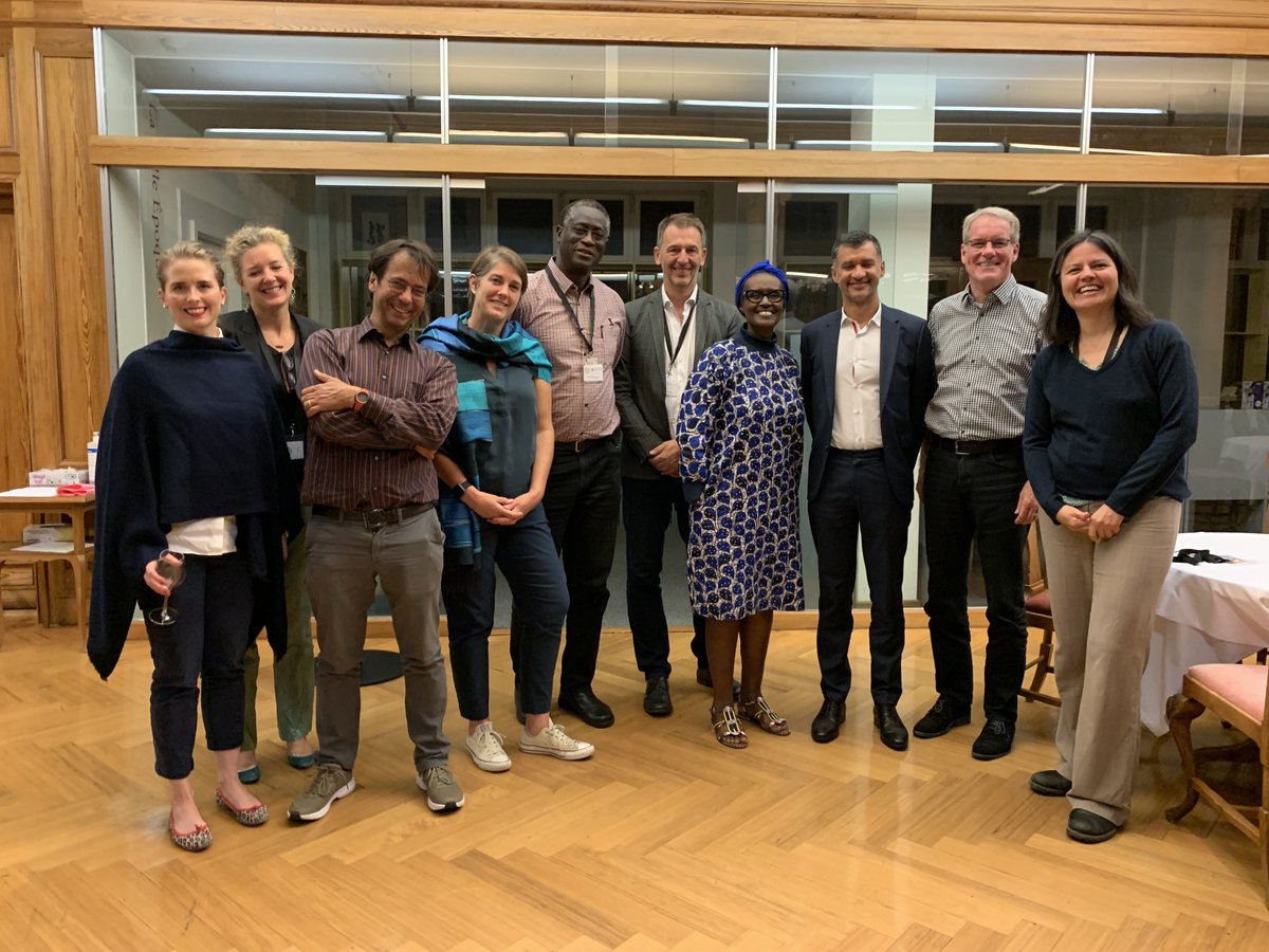 A wonderful reunion with @wjamann & old & new friends of the @ICS_Centre Thk you for inviting me. We must seize the opportunities a complex global health, climate, environmental & economic crisis presents us! We have the solutions, let's mobilise the will!