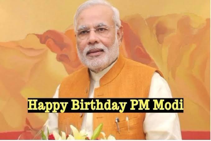 Happy Birthday Our Prime Minister Narendra Modi.