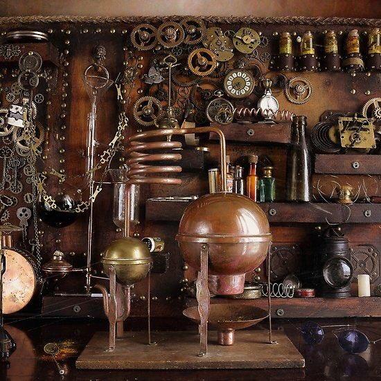 Farmacie a #steampunk 😁