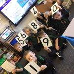 Image for the Tweet beginning: Year 1 Maths having fun
