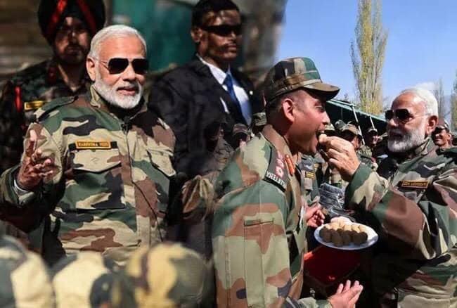 Happy birthday to our Prime Minister, Narendra Modi ji
