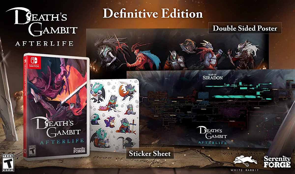 Death's Gambit: Afterlife - Definitive Edition (Switch) pre-order on Amazon: