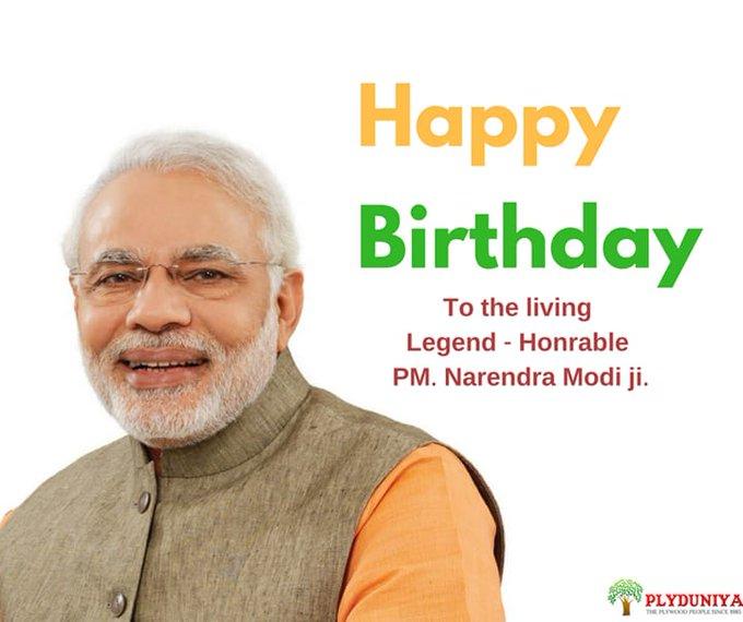 Birthday Narendra Modi ji...