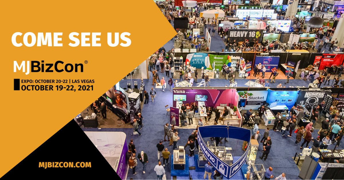 ASTMIntl: Attending #MJBizCon this year? Oct 21-22. ASTM has a special discount code for $100 off your full conference or expo only passes. Use code AD2021ASTM. And we'll see you there at Booth C2249! #cannabis #cannabisindustry Visit