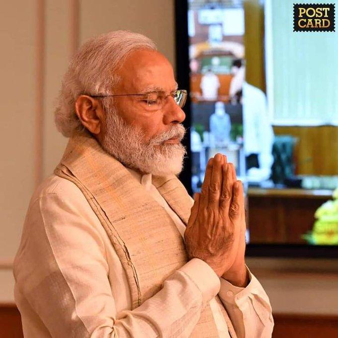 Happy birthday to our honorable PM shri Narendra Modi Ji
