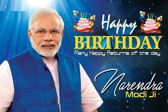 Happy Birthday to World\s Powerful Leader Honorable Shree  Narendra Modi Ji.