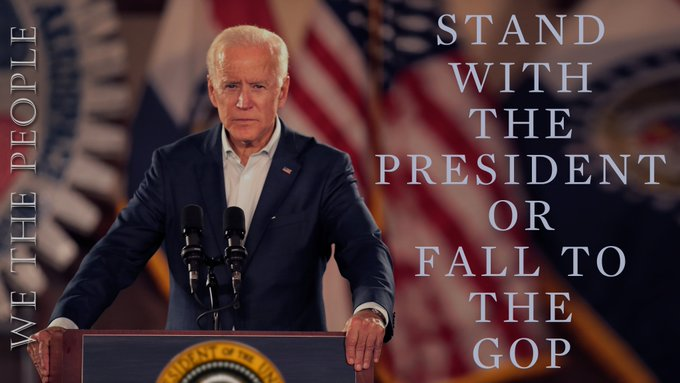 """Some Democrats openly conflicted with the Obama administration & tried to campaign on being """"independent""""  The Democrats lost the House in 2010, & then the Senate in 2014  We either unify behind President Biden, or history will repeat itself  #wtpBLUE @wtpBLUE https://t.co/JylcBtQUSk"""
