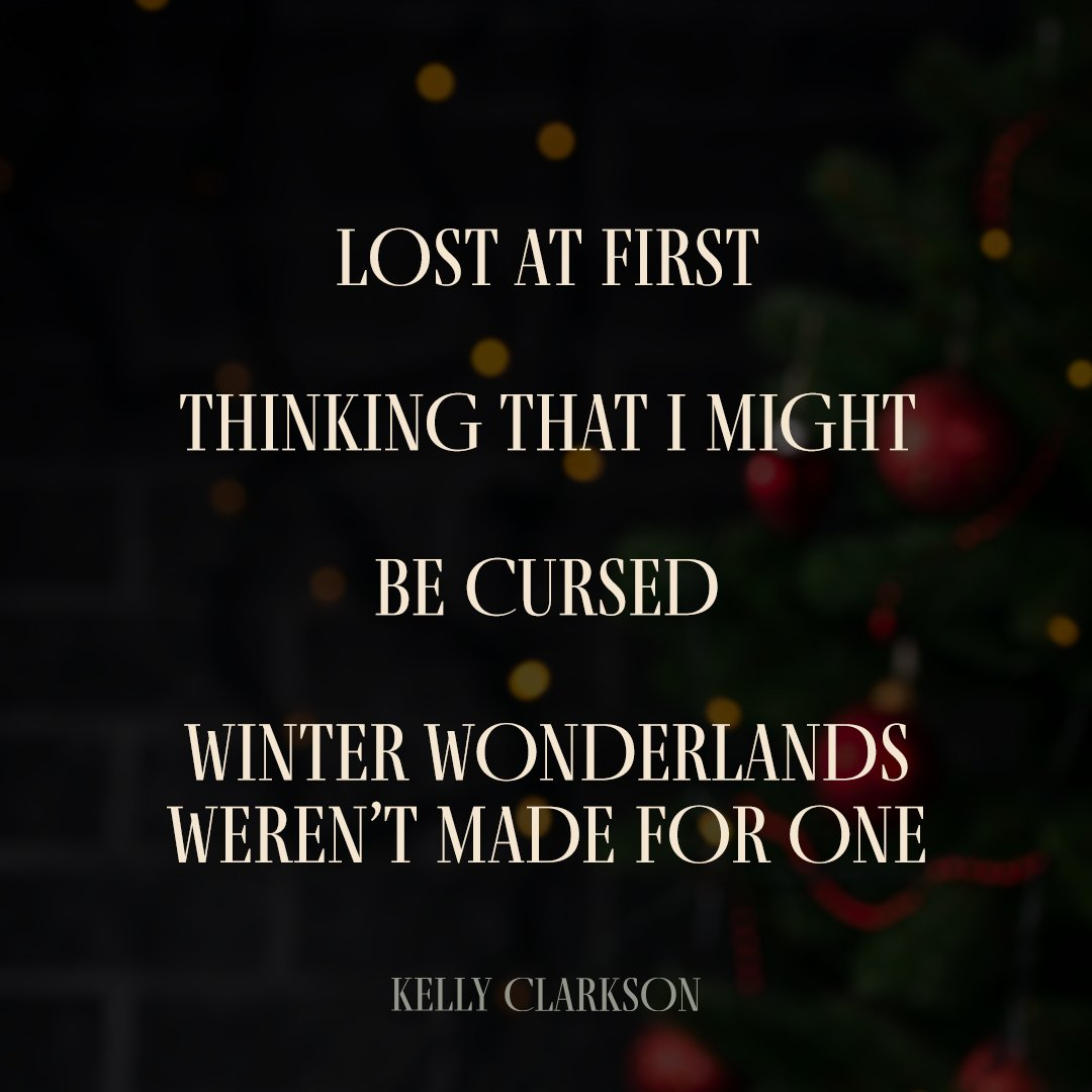 """One week until my new Christmas single is released! Here are some of the lyrics... 🎄🎶  Pre-save """"Christmas Isn't Canceled (Just You)"""" now at https://t.co/6MaUpJpMlw. #ChristmasIsntCanceled https://t.co/MklT3joCiQ"""