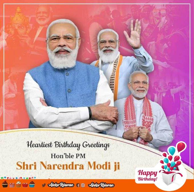 birthday Narendra Modi ji