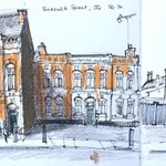 Image for the Tweet beginning: Here are some #JewelleryQuarter sketches.