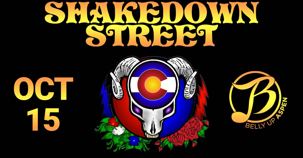 One of the longest running Grateful Dead tribute bands, Shakedown Street, returns Friday, 10/15 Tickets: ow.ly/Gp7q50GbpDm