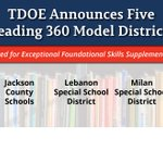 Image for the Tweet beginning: 5 districts are recognized as