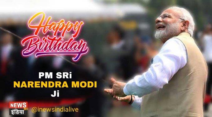 Happy Birthday PM Sri Narendra Modi ji....