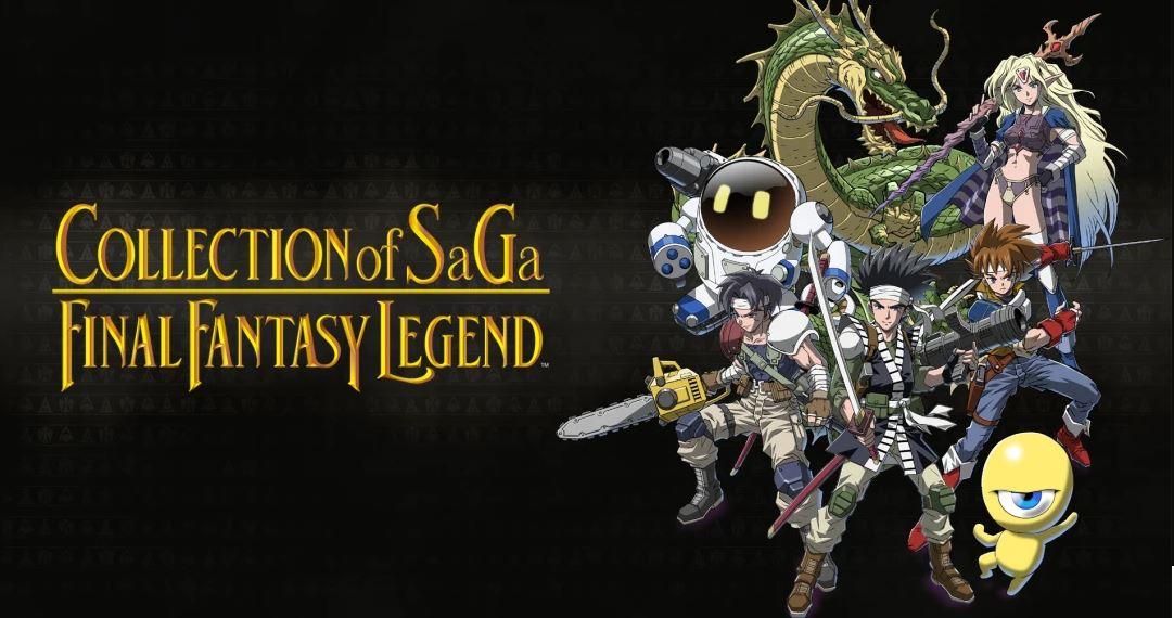 COLLECTION of SaGa FINAL FANTASY LEGEND (S) $14.99 via eShop.