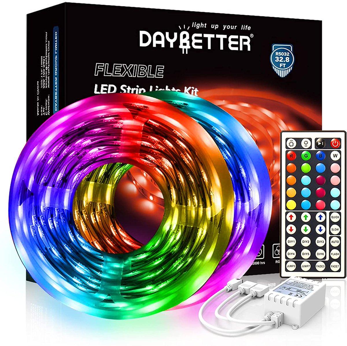 DAYBETTER Led Strip Lights  Only $14.44!