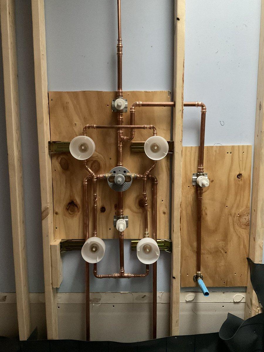 My future shower. #steampunk #copperRobot