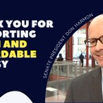 Image for the Tweet beginning: Thank you, @DonHarmonIL, for your