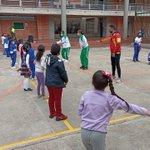 Image for the Tweet beginning: Hicimos visita al Colegio Técnico