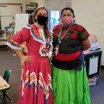 Image for the Tweet beginning: Pre-K celebrating Mexican Independence Day!