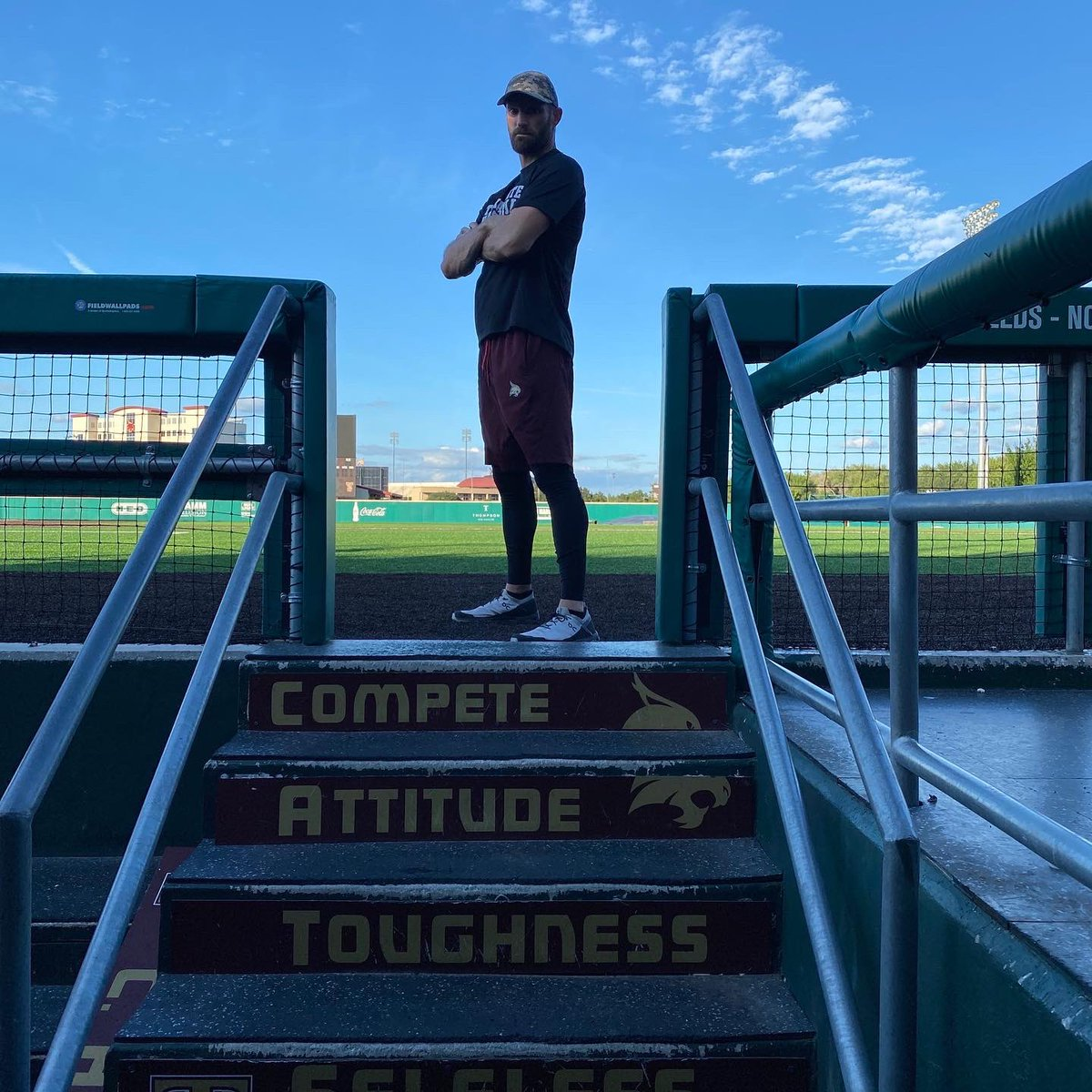 Dominating days with @TxStateBaseball @trouty16.