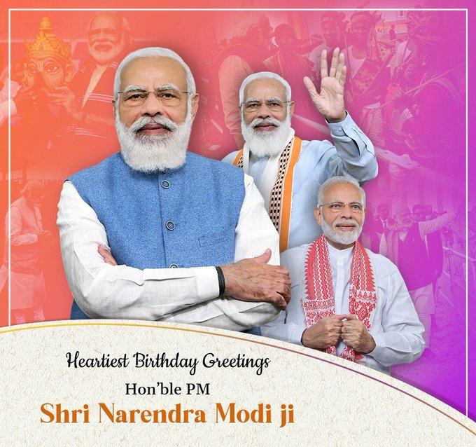 Happy birthday my country PM Shri Narendra Modi jii