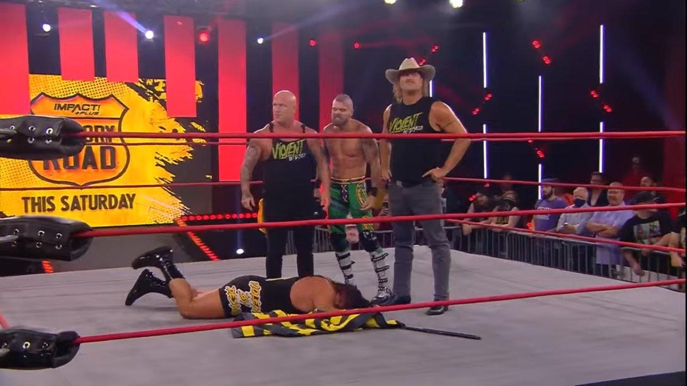 IMPACT Wrestling: Rhino fue expulsado de Violent By Design