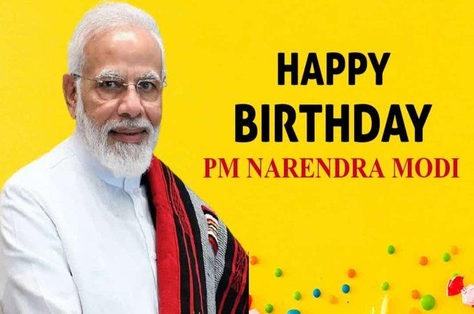 Happy Birthday to the world\s most revolutionary and beloved leader, Shri Narendra Modi ji...