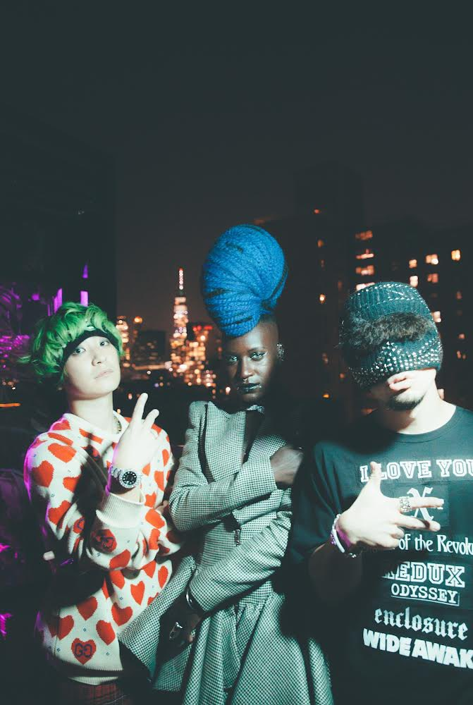 Best night in NYC performing our special set with @Mariememusic 🗽 @Nakajin_sekaino @fromsekaowa