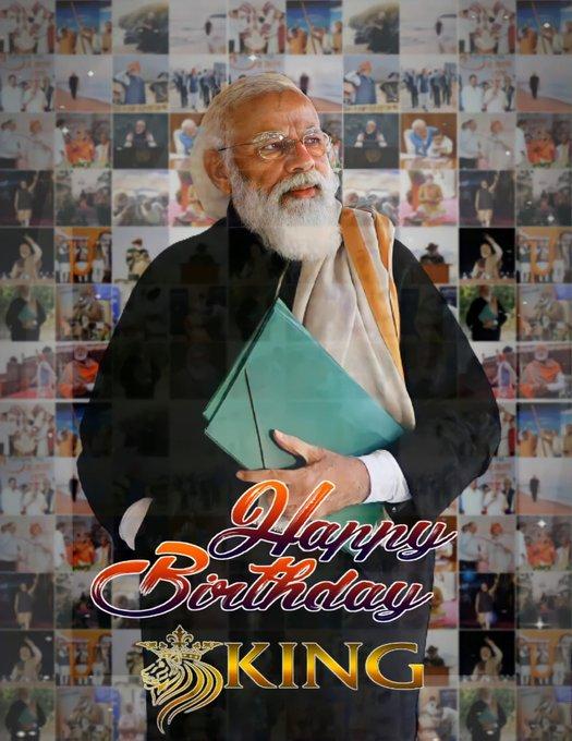 Happy Birthday to Honorable PM Mr. Narendra Modi....