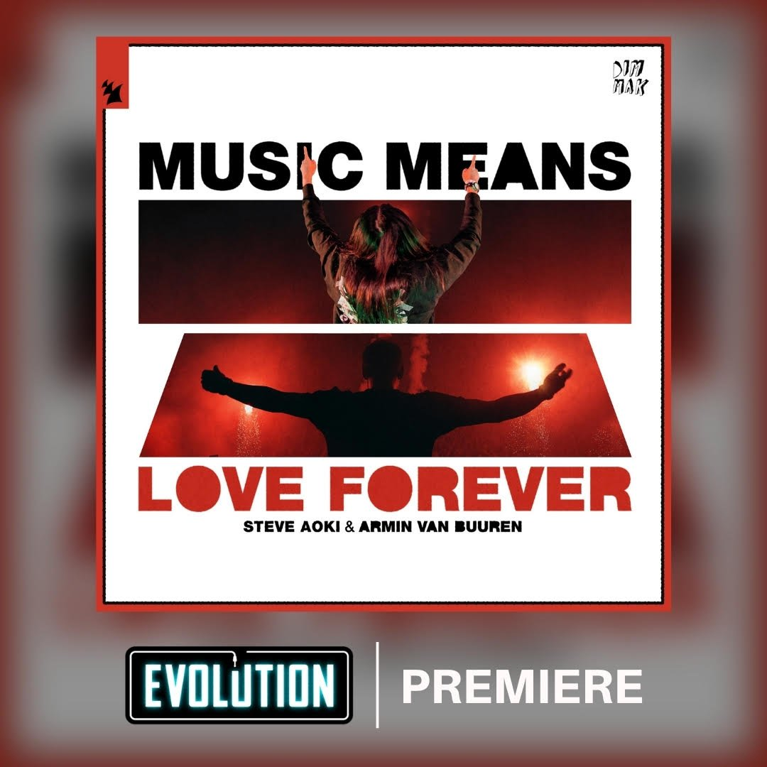 My new song with @ArminvanBuuren #MusicMeansLoveForever playing all day today on @EvolutionRadio!! #EvolutionPremiere 🤘  Listen free on the @iHeartRadio app: evolution.iheart.com/listen