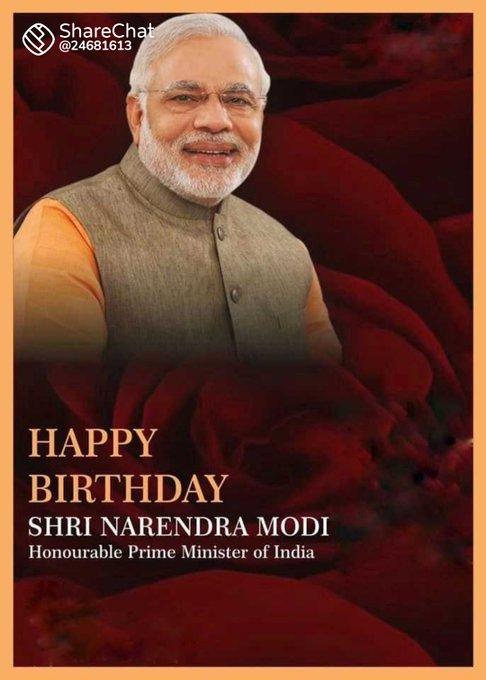 Happy Birthday Narendra modi sir