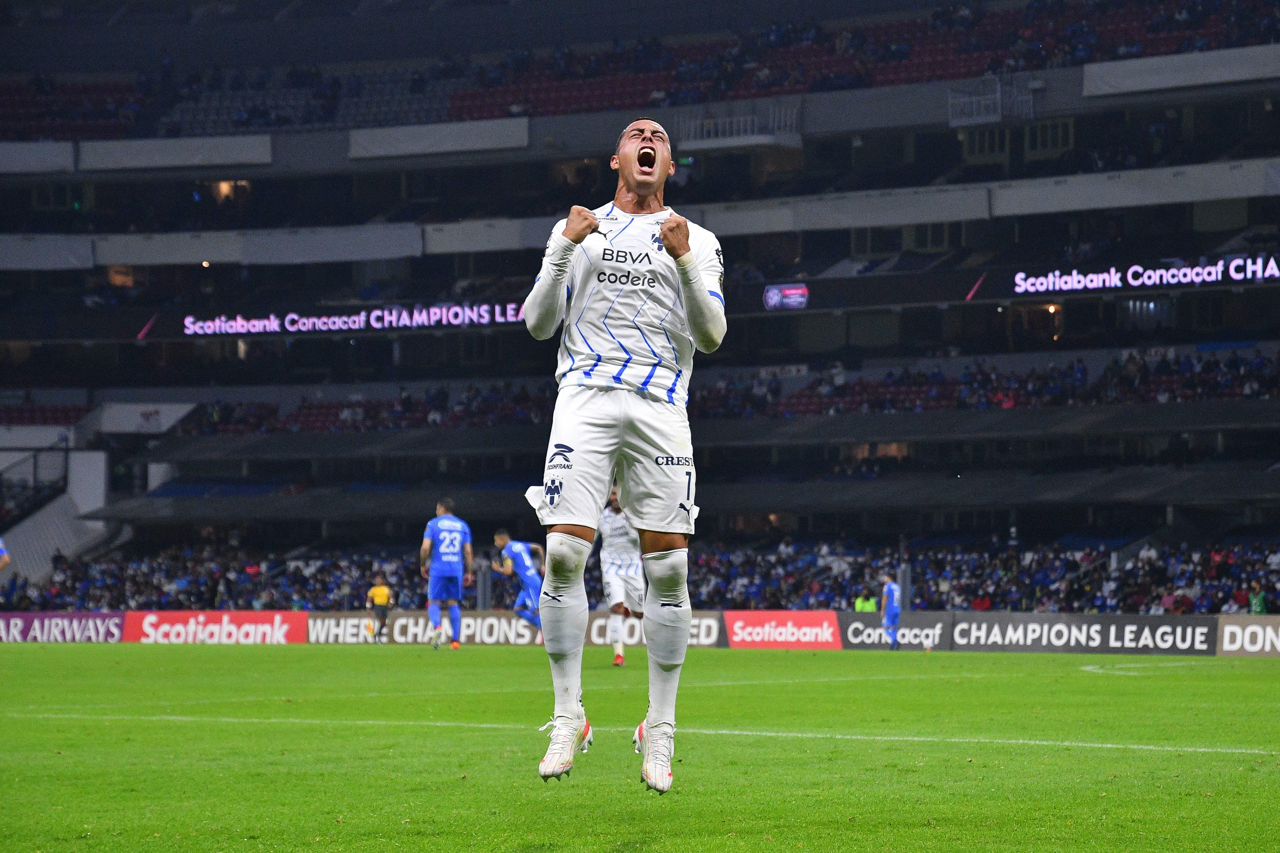 Cruz Azul vs Monterrey 1-4 CONCACAF Champions League 2021