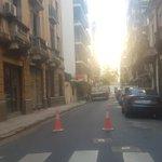Image for the Tweet beginning: AHORA #Palermo ⚠️🚧 cerrado al