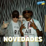 Image for the Tweet beginning: NOVEDADES #urbanstyle #novedades #regueton #musicaurbana #activatefm