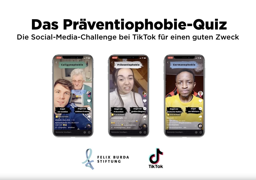 Comprix: TikTok-Challenge der Felix Burda Stiftung mit Gold ausgezeichnet. https://t.co/gUChs907qY https://t.co/Y8mVTtm4tn