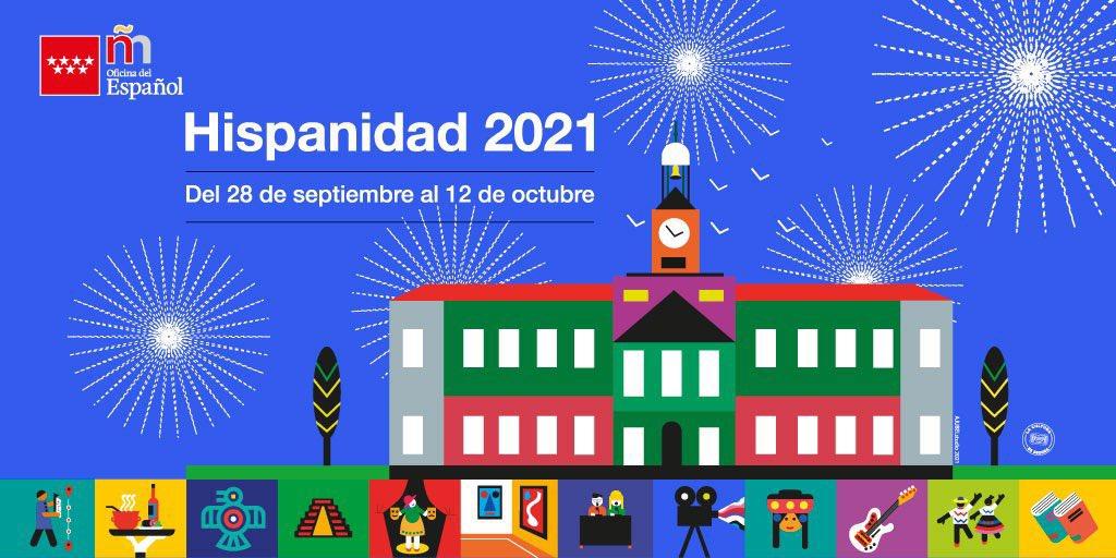 """EM - electomania.es on Twitter: """"‼️El Festival de la Hispanidad 🇪🇸 ya  tiene cartel. Oeganizado por la oficina madrileña del español, llevará a la  capital conciertos y actividades culturales entre el 28S"""