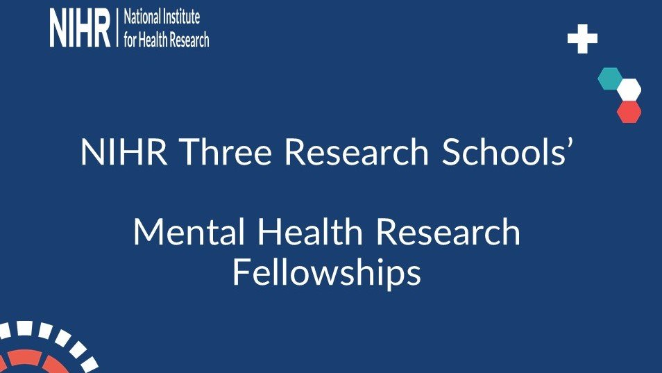 Great new opportunity for career development fellowships in mental health, learning disability and neurodiversity through the three NIHR Schools @NIHRSSCR @NIHRSPCR @NIHRSPHR ... Get in quick https://t.co/oIY96Q9Yk2
